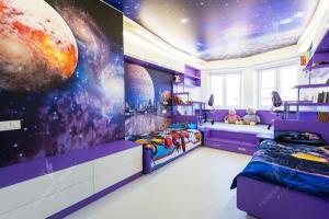 Звездное небо детская для мальчиков