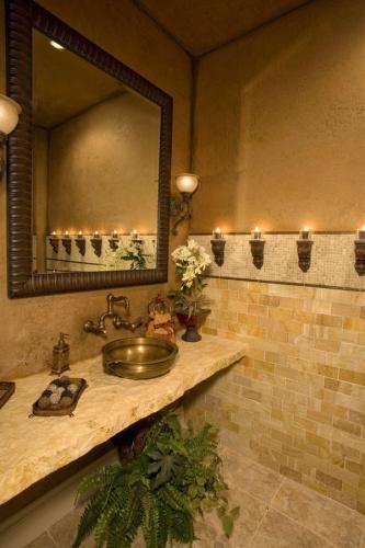 Свеча стена бра современная ванная комната средиземноморский стиль