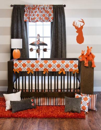 коричневые оранжевые украшения