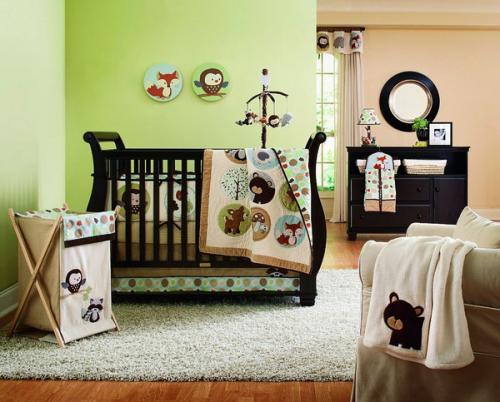 Деревянная детская мебель для детской кроватки