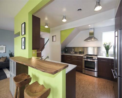 Идеи пола Современный дизайн кухни