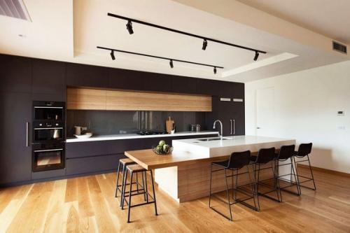 деревянные кухни