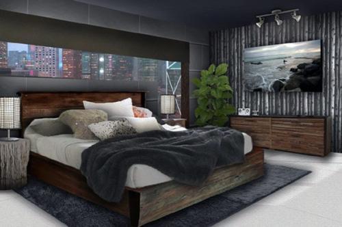 Идея украшения спальни