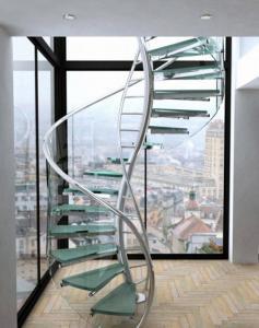 впечатляющий дизайн лестниц интерьера