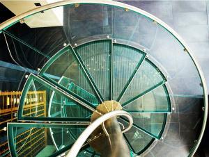дизайн спирального стекла