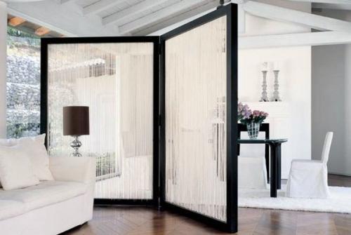 минималистский дизайн интерьера подвесной комнаты