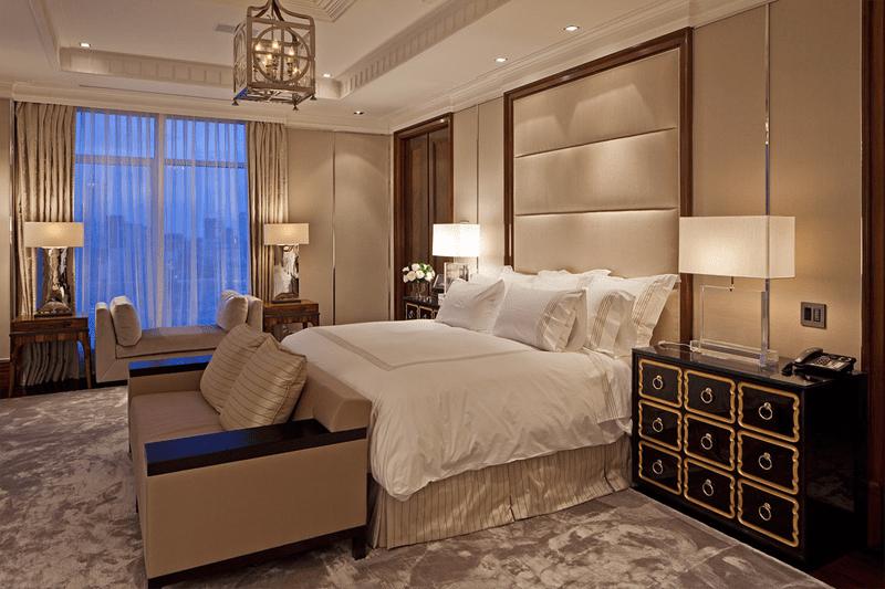 Дизайн бежевой спальни 30 фото