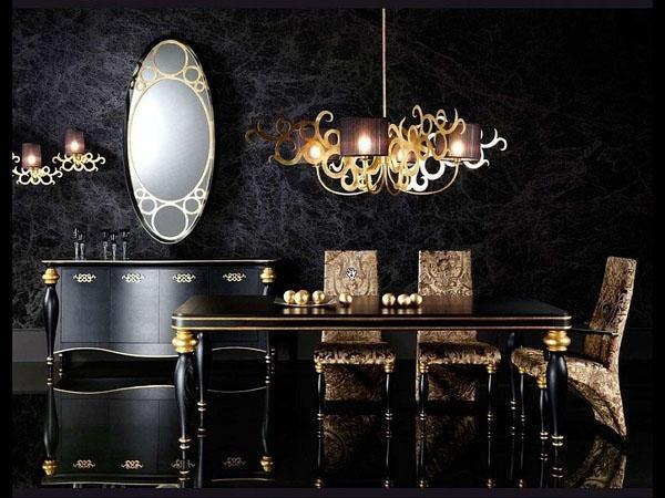 Дизайн столовой-кухни фото