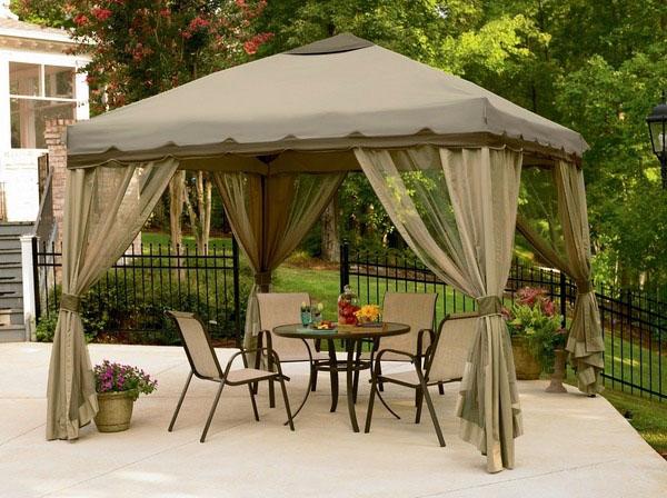 Идеи шатров для отдыха