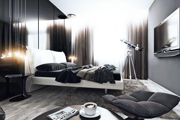 Спальня для холостяка