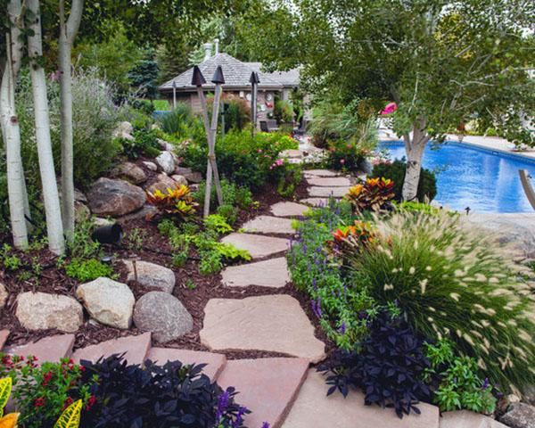 Идеи для садовых дорожек