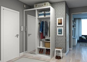 Дизайн шкафа в прихожую 30 лучших фото dizain-shkafa-v-prihozjuju-17