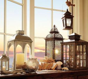 Романтические декоративные фонари