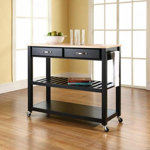 Тележка кухонная с колесиками