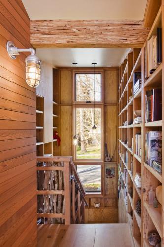 Стены бра идеи деревенские лестницы настенные книжные полки