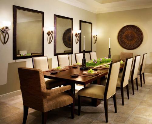 Современные стеновые бра настенные зеркала столовая декорирование стен
