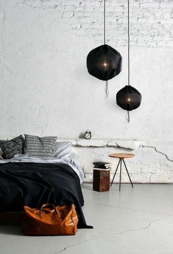 минималистский стиль кирпичная стена